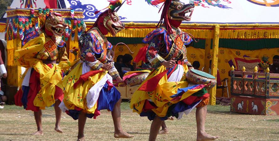 bhutan festivals and culture tour