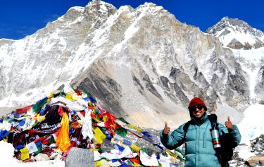 Comfortable Everest Base camp trek.