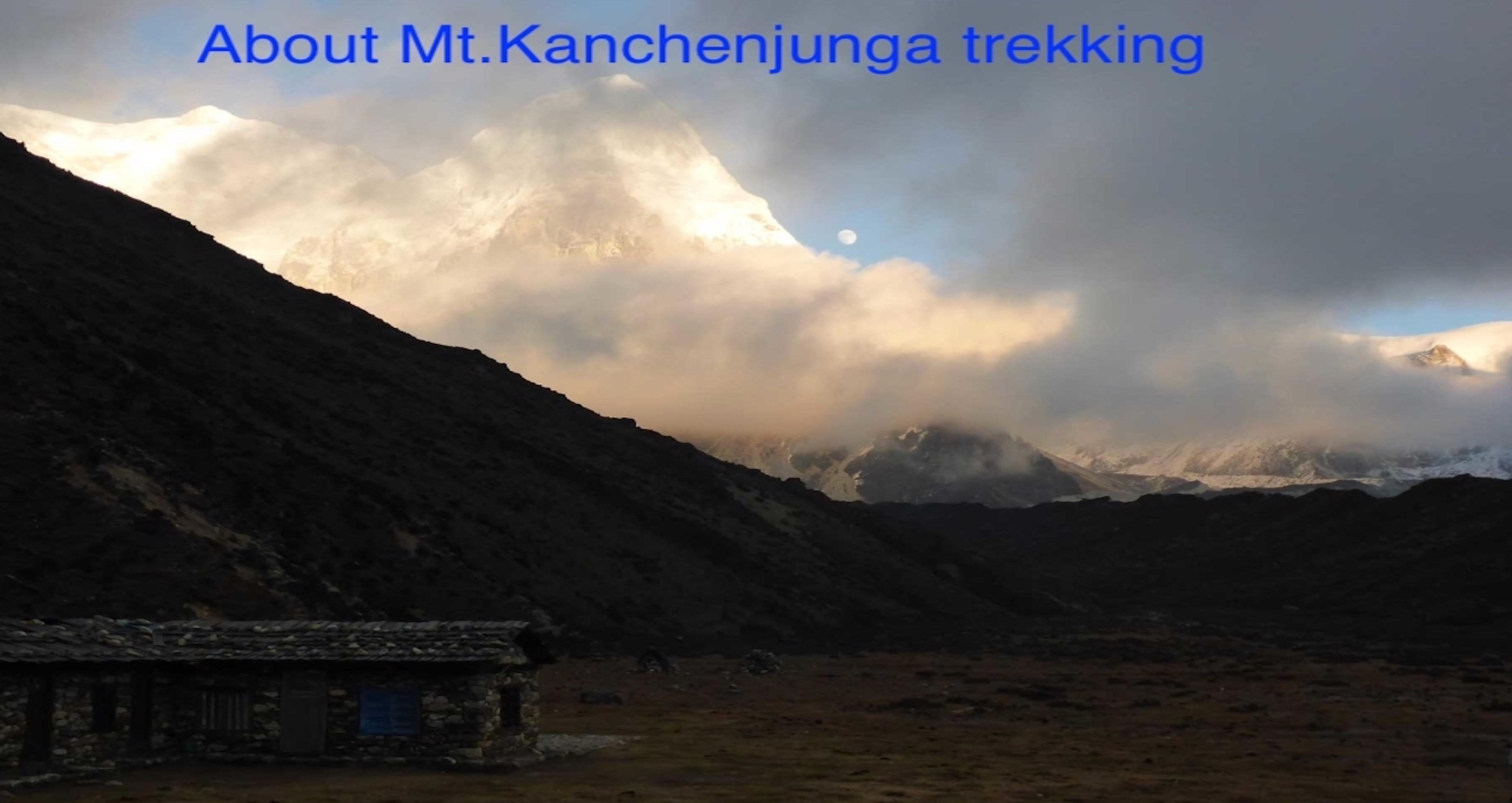 Mt.Kanchenjunga trekkig