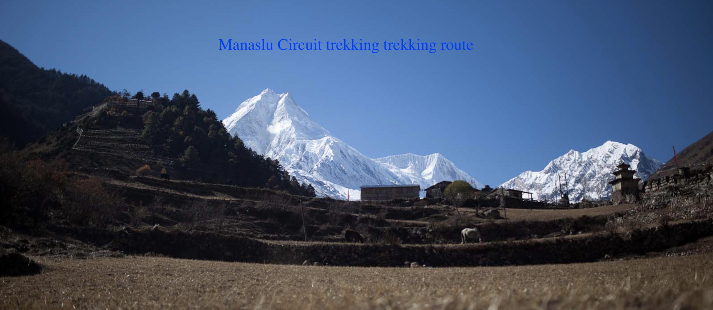 Manasalu Circuit trekking route.