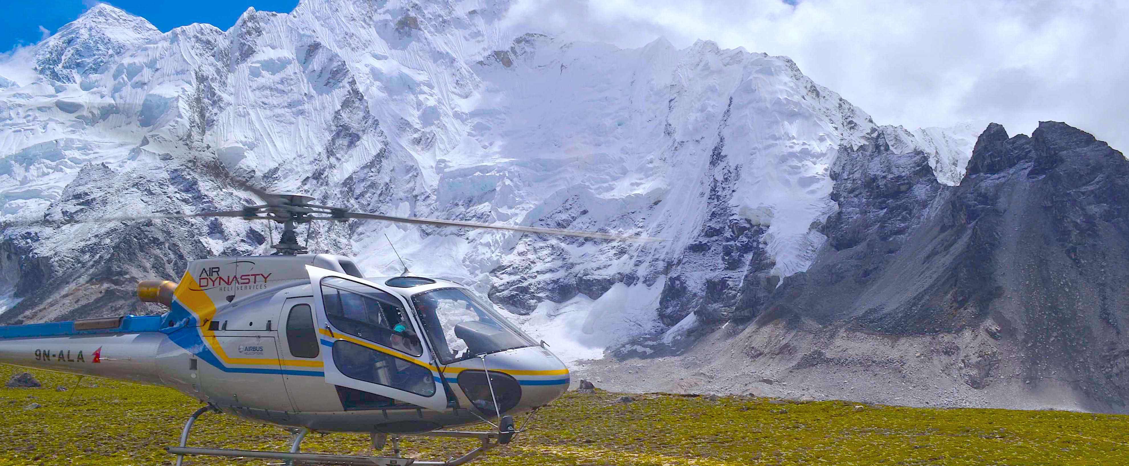 Everest Base Camp Helicoptrer tour