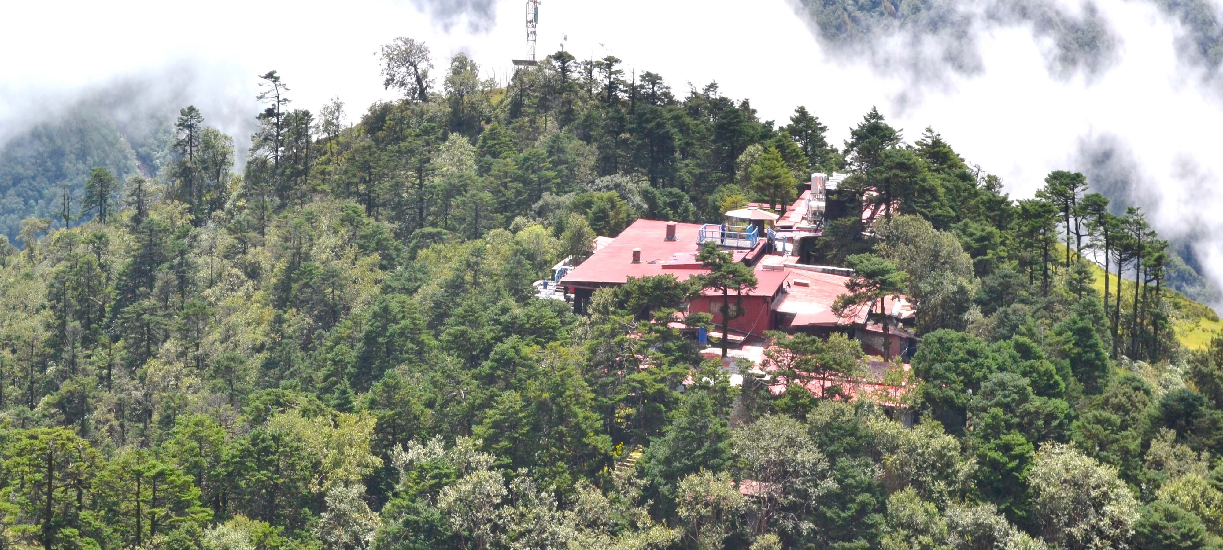 Everest view hotel by Helicopter