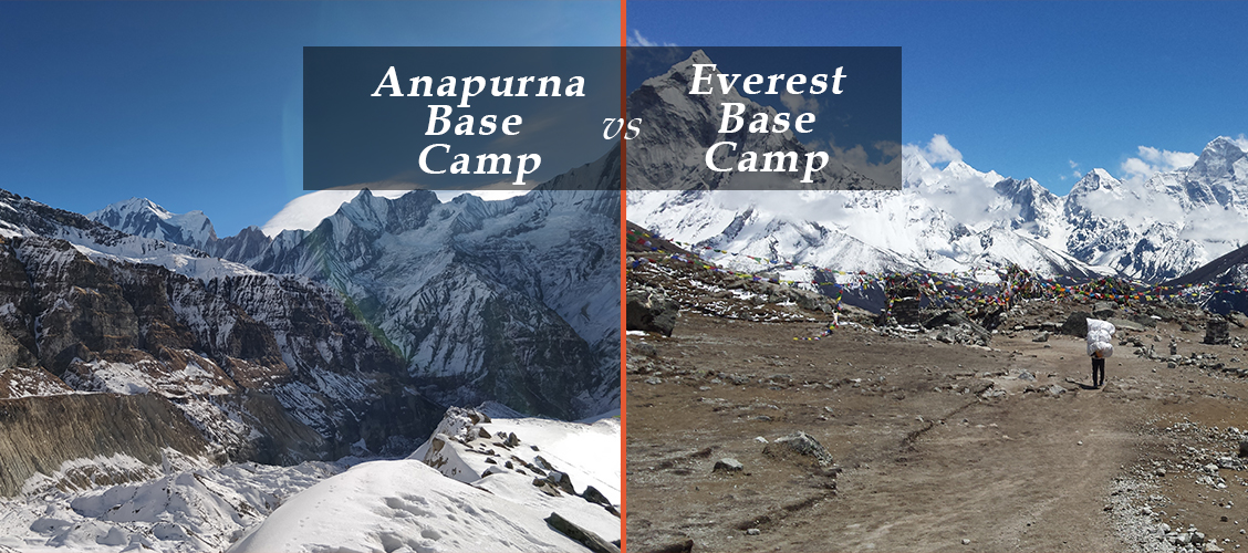 annapurna vs everest base camp trek