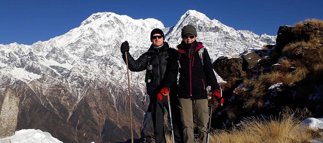 Annapurna Base Camp Weather December January February