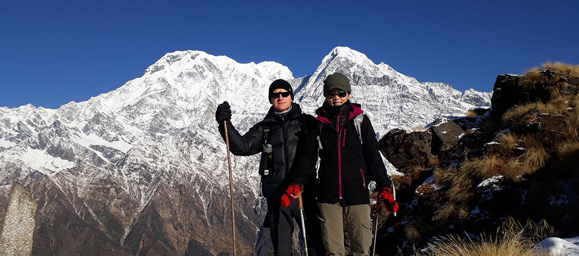 mardi himal trek 5 days itinerary