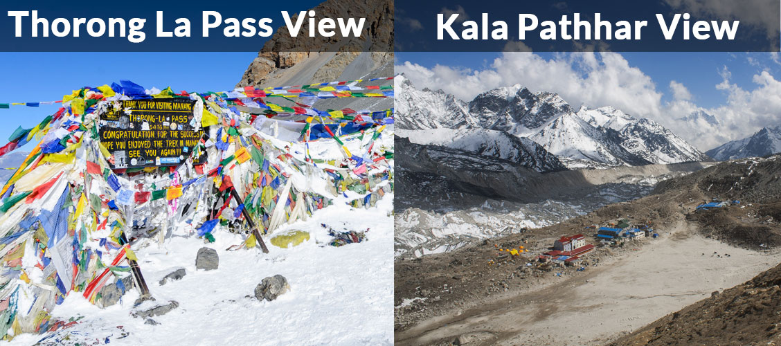 annapurna circuit vs everest base camp trek